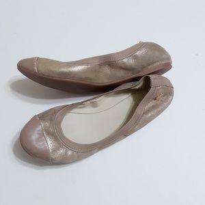 Cole Haan ballet flats size 8.5 B gold